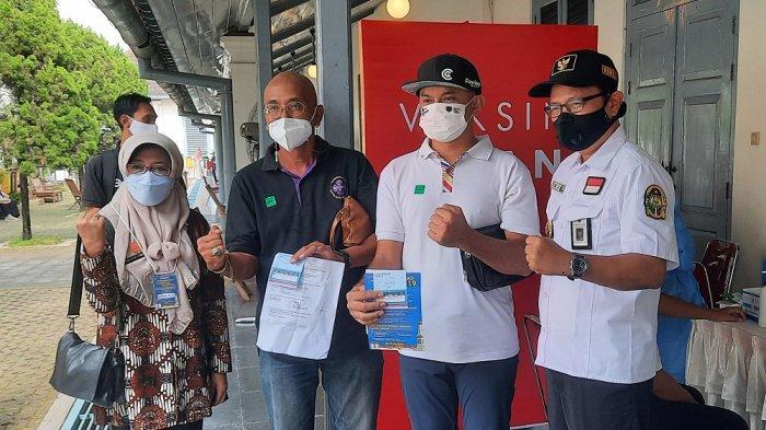 Pelaku Usaha Jasa Pariwisata Yogya Ikuti Vaksinasi Massal di Benteng Vredeburg
