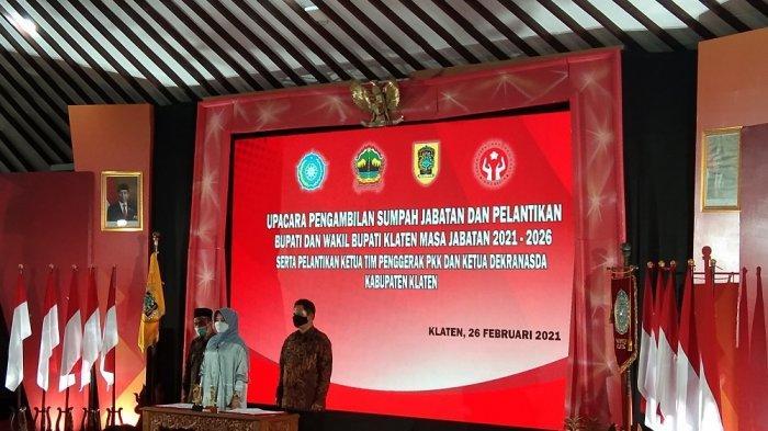 Amankan Pelantikan Bupati dan Wabup Klaten, Polres dan Kodim Terjunkan 120 Personel