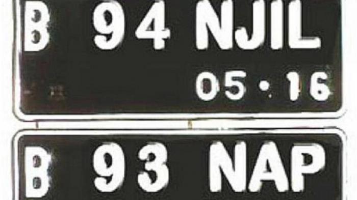 Penting! 7 Jenis Pelat Nomor Kendaraan Ini Jadi Incaran Polisi, Jangan Dipakai Bila Tak Mau Ditilang