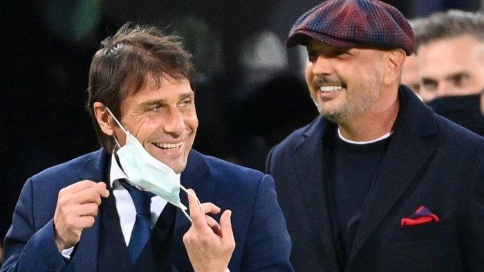 INTER MILAN: Ketika Conte Tidak Bisa Sembunyikan Senyum Scudetto-nya