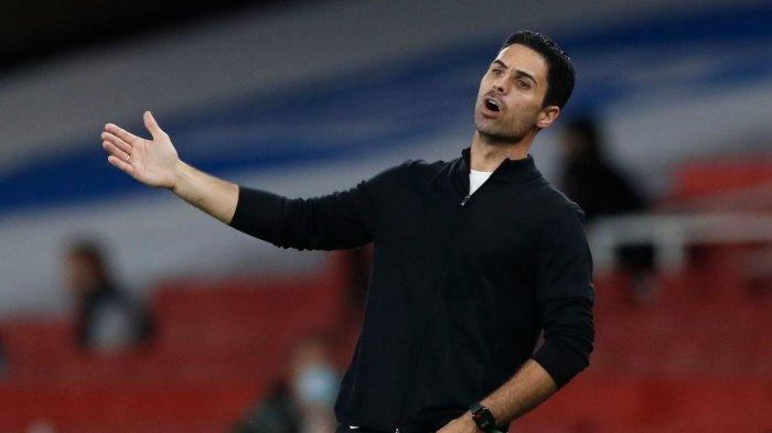 Pelatih Arsenal Mikel Arteta