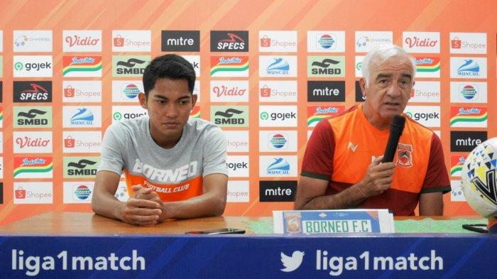 Pelatih Borneo FC Tak Menyangka Brian Ferreira Harus Absen Hingga Akhir Musim