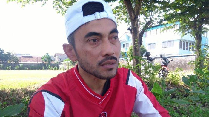 Pelatih PSIM Yogyakarta, Seto Nurdiyantoro saat ditemui seusai latihan di Lapangan Kenari, Kamis (12/8/2021).