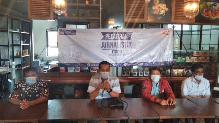 KPU DIY Gandeng Tribun Jogja Gelar Pelatihan Jurnalistik
