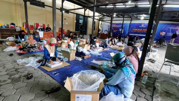 KPU Gunungkidul Temukan Ribuan Surat Suara Pilkada Rusak