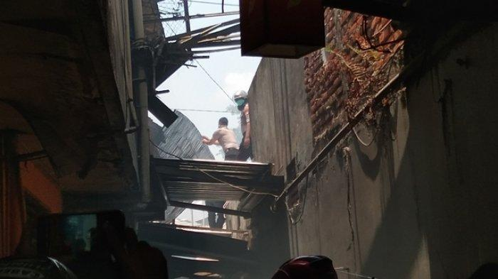Kesaksian Warga di Lokasi Kebakaran Sosrowijayan, Asap Memenuhi Kampung dan Terdengar Suara Letupan