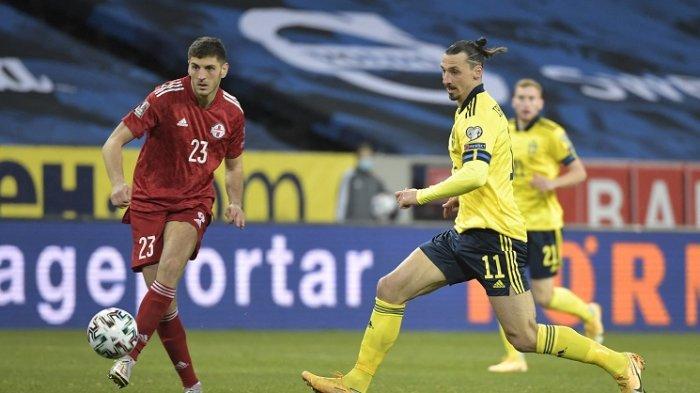 Siaran EURO Malam Hari Ini SWEDIA vs SLOVAKIA Tayang di Channel TV Partner Piala Eropa 2020: LINE UP