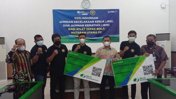 Mataram Utama FC Bekerjasama dengan BPJS Ketenagakerjaan Untuk Beri Perlindungan Bagi Pemain