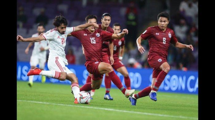 Kualifikasi Piala Dunia 2022 - Kejutan! Thailand Bekuk UEA, Filipina vs China Berakhir Imbang