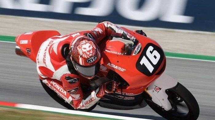 Pembalap Indonesia Balapan di Moto3 World Championship