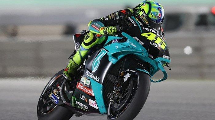 Keluhan Rossi Soal Ban Yamaha YZR-M1, Jadwal MotoGP Doha 2021 Hari Ini