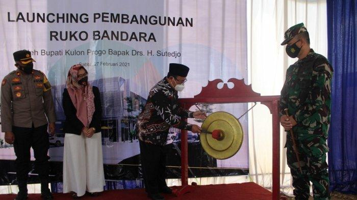 Pembangunan Ruko Bandara Diharapkan Dapat Tingkatkan Perekonomian Masyarakat di Kulon Progo