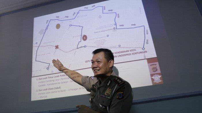 Empat Hari Lagi Proyek Pembangunan Underpass Kentungan Yogyakarta Dimulai