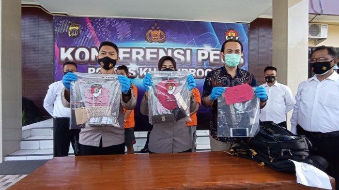 Pelaku Penipuan Pembelian Berlian Kepada Penumpang Pesawat di YIA Kulon Progo Diamankan Polisi