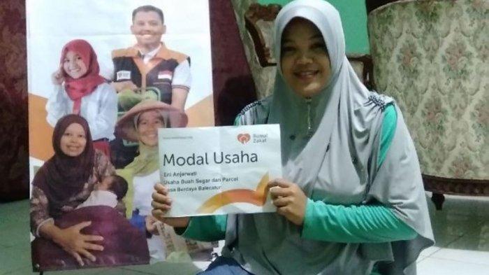 Rumah Zakat Beri Bantuan Modal Usaha Untuk Pedagang Buah dan Parcel di Sleman