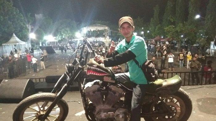 Pria Asal Aceh Ini Berhak Boyong Lucky Draw 'Belo Negoro' Kustomfest 2018