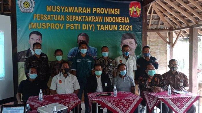 PSTI DIY Pilih Ketua Umum Baru, Siap Bawa Sepaktakraw DIY Raih Medali di PON XX Papua