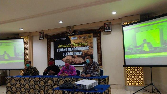 Produk Makanan dari Bahan Baku Porang Peluang Baru bagi UMKM di DI Yogyakarta