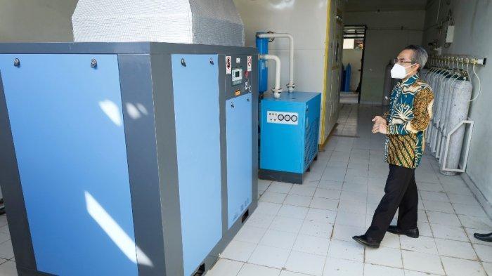 Pemkab Bantul Kini Punya Generator Oksigen yang Juga Bisa Digunakan untuk Masyarakat Secara Gratis