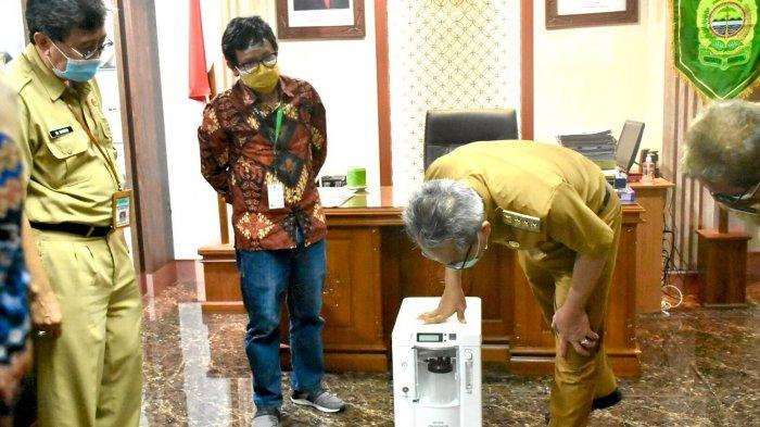 Pemkab Bantul Mendapatkan Bantuan 10 Unit Oxygen Concentrator