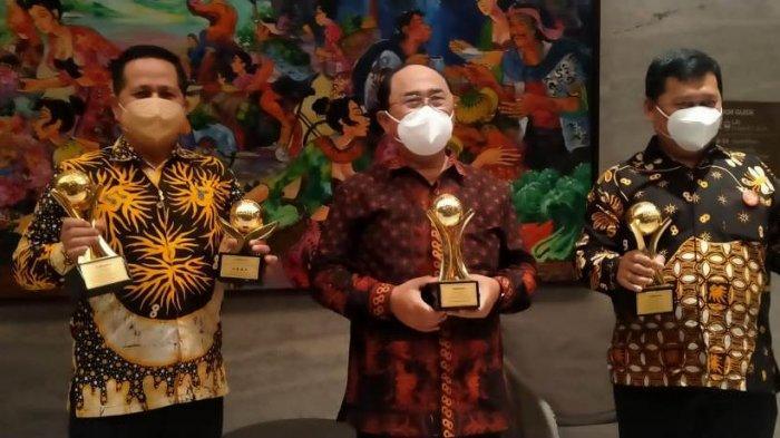 Pemkab Kulon Progo Borong 3 Penghargaan dalam Ajang TOP BUMD Awards 2021