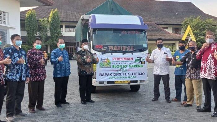 Pemkab Kulon Progo Luncurkan Tradisi Gayeng Regeng Blonjo Bareng