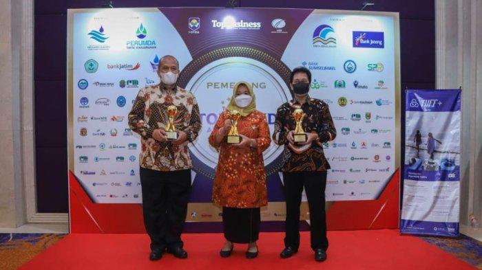 Pemkab Sleman Raih 5 Kategori Penghargaan TOP BUMD Award 2021