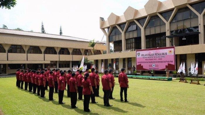 Pemkot Magelang Lantik Kepengurusan KONI Kota Magelang untuk Periode 2021-2025