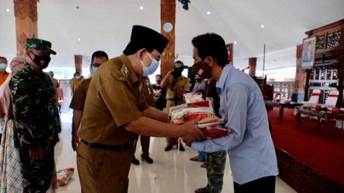 Pemkot Magelang Salurkan Bansos pada 11.124 Warga Kota Magelang yang Terdampak PPKM Darurat