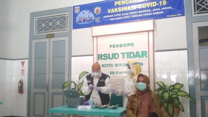 Pemkot Magelang Mulai Program Vaksin Perdana