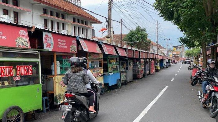 PKL Kota Magelang Boleh Buka Layanan Dine In