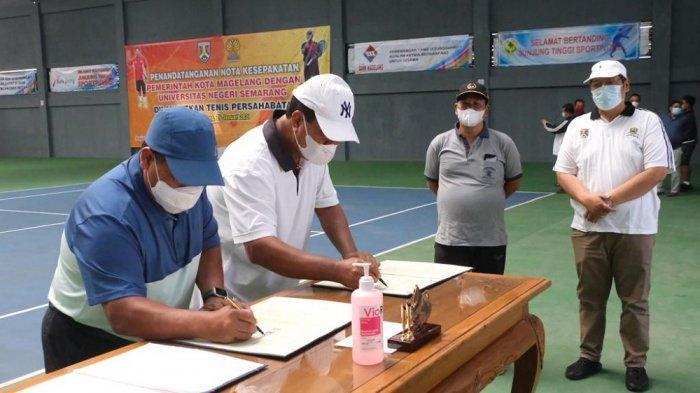 Pemkot Magelang Teken Kerja Sama dengan UNNES Semarang