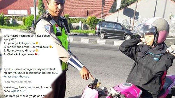 Mbak-mbak Kena Tilang, Alasan Nomer Empat Kata Polisi 'Mbake Kok Ayu Tenan'