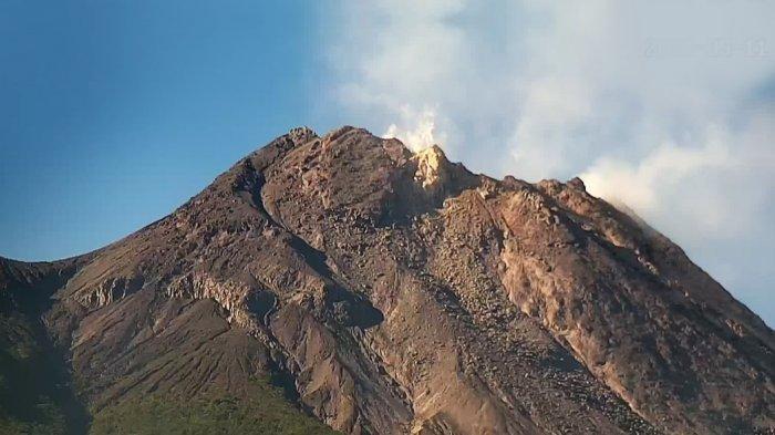 UPDATE Gunung Merapi 19 Mei 2021, Muntahkan 9 Guguran Lava Pijar Tadi Malam, Jarak Luncur 2 Km