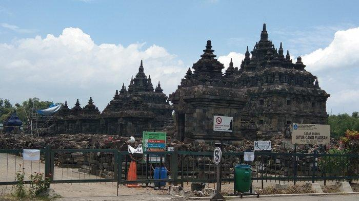 Penampakan objek wisata Candi Plaosan yang berada di Desa Bugisan, Kecamatan Prambanan, Kabupaten Klaten beberapa waktu lalu.