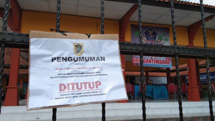 BREAKING NEWS: Klaster Perkantoran Muncul di Gantiwarno Klaten, Pelayanan Ditutup Dua Hari