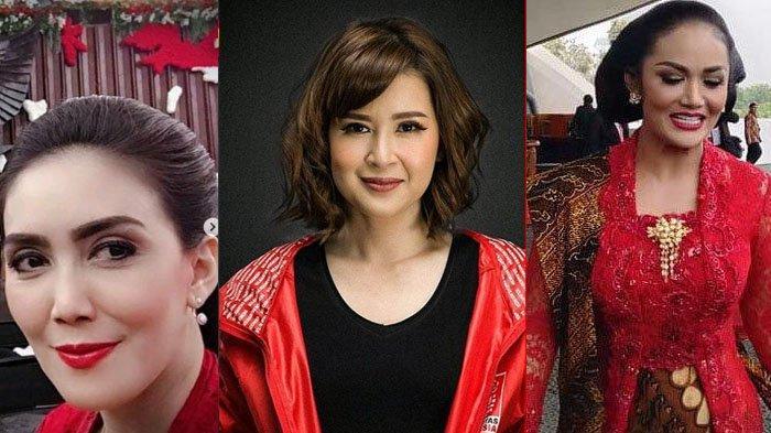 Penampilan Kece KD Hingga Rieke Diah Pitaloka Saat Pelantikan Jokowi