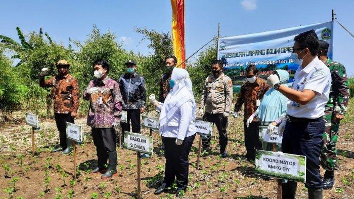 Hadapi Pancaroba, BMKG Beri Edukasi Iklim Pada Petani di Playen Gunungkidul