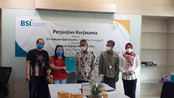 Bank Syariah Indonesia Kerja Sama dengan Toko Mas Kranggan, Kuatkan Produk Cicil Emas