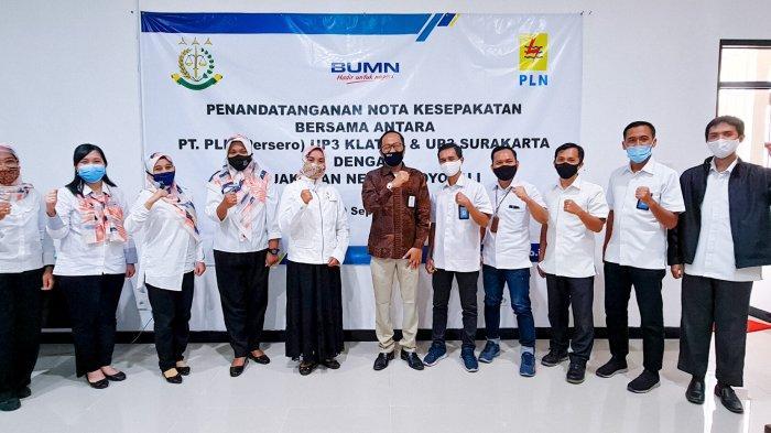 PLN UP3 Klaten dan PLN UP3 Surakarta Tandatangani MoU dengan Kejaksaan Negeri Boyolali