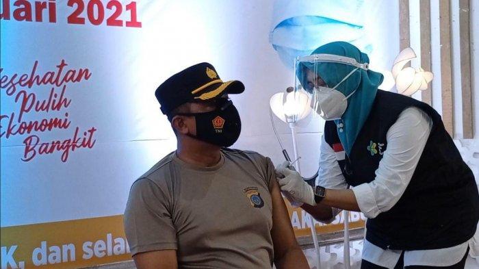 Kesan Beberapa Tokoh Yang Mewakili Pencanangan Vaksinasi Covid-19 di Kulon Progo