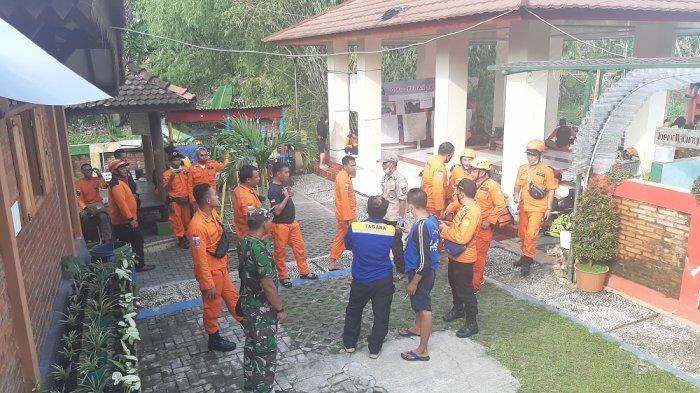 Pencarian Korban Tenggelam di DAM Mrican Sampai ke Tempuran-Sungai Opak