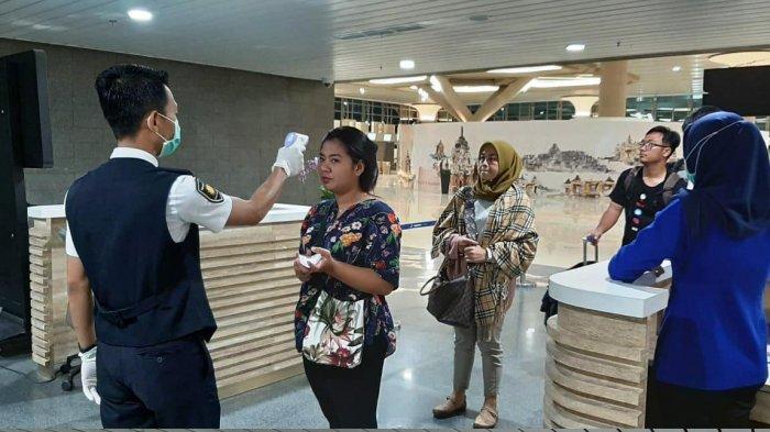 Cegah COVID-19 di Lingkungan Bandara, Bandara YIA Terapkan Thermal Scanner ke Penumpang
