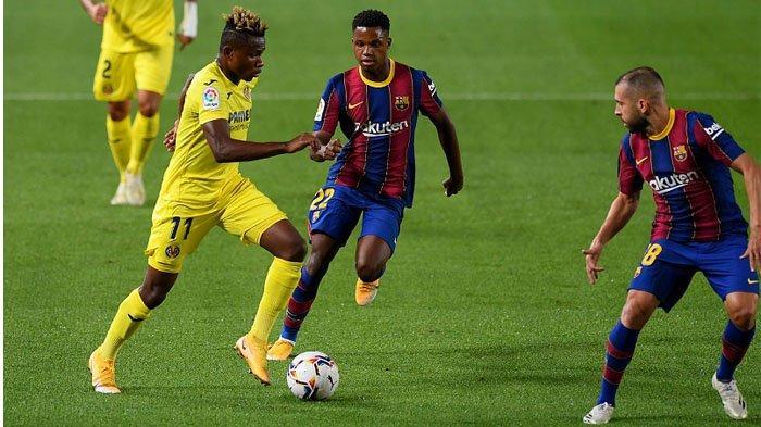 Video Empat Gol Barcelona vs Villarreal, Kemenangan Perdana Koeman di Liga Spanyol