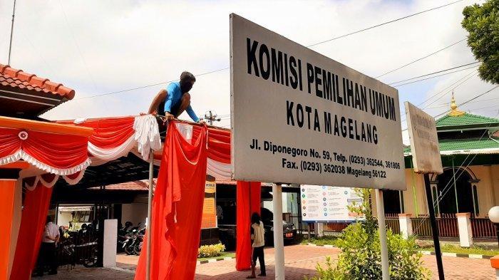 Pendaftaran Paslon Besok, KPU Kota Magelang Siap-siap