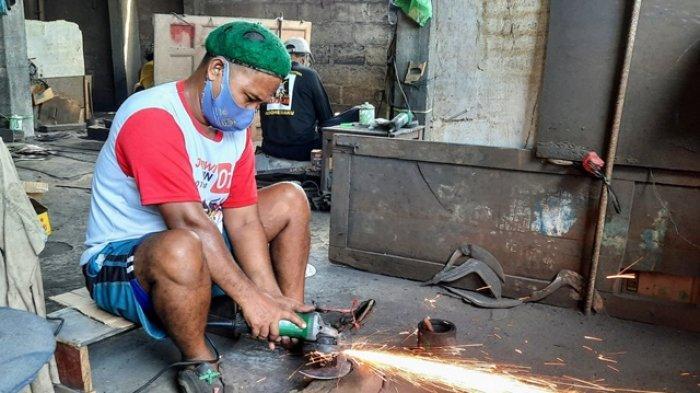 Menilik Kampung Pandai Besi di Pedukuhan Kajar Gunungkidul, Coba Bertahan di Tengah Perubahan Zaman