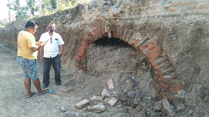 Temuan Terowongan Kuno di Sabranglor Klaten Diduga Saluran Penampungan Air Zaman Belanda