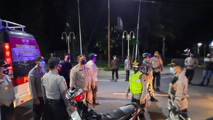 Penerapan PPKM Level 4, Polres Magelang Bersama TNI Gelar Operasi Yustisi Simpatik