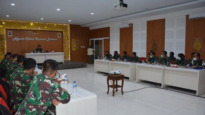 Jelang Libur Panjang, Danrem 072/Pmk Brigjen TNI Ibnu Bintang Setiawan Beri Pengarahan