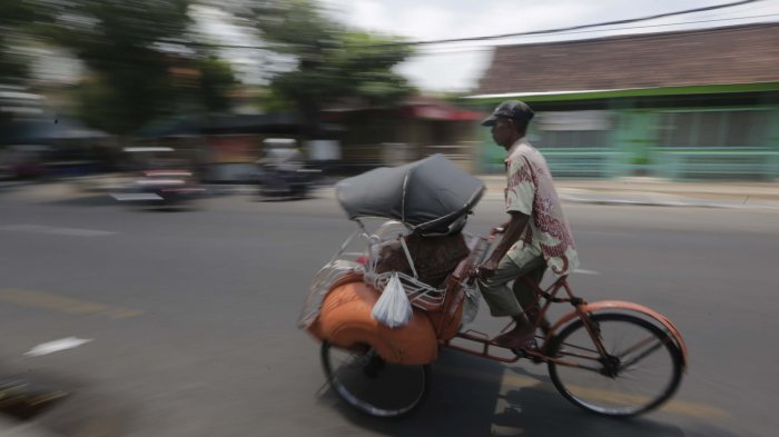 Jumlah Becak dan Andong di Malioboro Dibatasi Sesuai Kapasitas Pangkalan